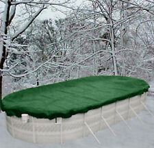 12'x18' Oval Above Ground Winter Swimming Pool Solid Cover 12 Yr Warranty solid