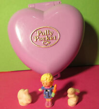 Polly Pocket Mini ♥ Hasen Herzchen ♥ Pretty Bunnies ♥ 100% Komplett ♥