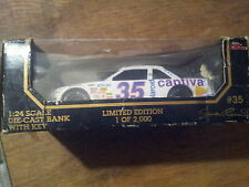 nascar die-cast bank with key # 35 shawna robinson 1-2000 limited edition