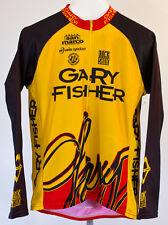 RARE Vtg Mens Gary Fisher Rock Shox MTB Race Cycling 1/2 Zip Jersey XL