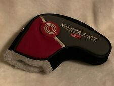 Odyssey White Hot Xg Blade Putter Head Cover - Headcover Slip On Golf Red Great