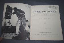 HANS HOFMANN - 1981 ANDRE EMMERICH GALLERY CATALOUGE