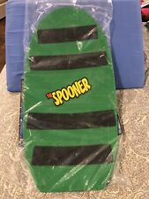 The Spooner Board Freestyle - Green - Sealed New 23� X 11�