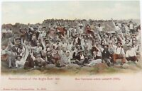 ".EARLY 1900s SOUTH AFRICA BOER WAR ""REMINISCENCE OF THE ANGLO-BOER WAR"" POSTCARD"