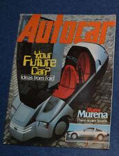 April Autocar Magazines