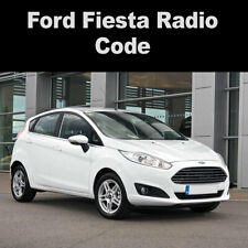 Ford Fiesta Radio Code Reset Stereo Codes 6000CD, 6006CD, 4500RDS UK Service
