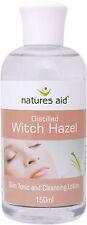 Distilled Witch Hazel 150ml - Natures Aid