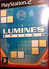 """JEU PS2 """"PUZZLE FUSION LUMINES PLUS"""" (Puzzle-Game) Buena Vista NEUF SOUS BLISTER"""