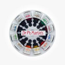 Dr Ph Martin's Hydrus Tinta - 12 X 1oz (30ml) Acuarela líquido-Set 2