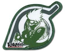 "Naruto Anime KAKASHI LEAF VILLAGE Patch 3.5"" x 2"" Licensed by GE Animation 7258"