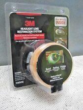 3M Headlight Headlamp Lens Cleaning Kit System - Renovation Renewal Restoration