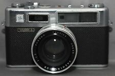 YASHICA ELECTRO 35 Rangefinder Film Camera YASHINON-DX f/1.7 45mm Lens Japan