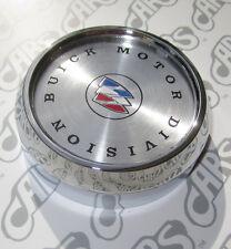 Buick Chrome Wheel Cap. 1971-1987. Tri-Shield. OEM 1236446