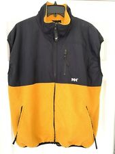 Vintage Made In Usa Helly Hansen Vest Spell Out Large