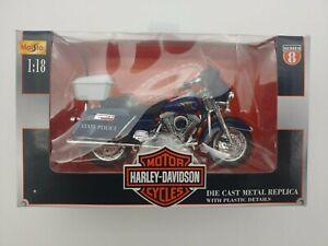 Maisto1:18 scale 2000 Harley Davidson MICHIGAN STATE POLICE SERIES 8