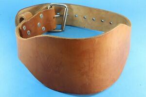 Weider Leather Weight Lifting And Training Belt. Size Medium, 29-33.