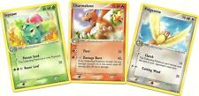 IVYSAUR CHARMELEON PIDGEOTTO-3 Uncommon FIRE RED LEAF GREEN Pokemon Cards- NM/M