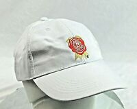 Jim Beam White Adjustable Fit Ball Cap, Embroidered Lettering & Designs