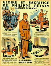 WW2 French Marshall Petain poster