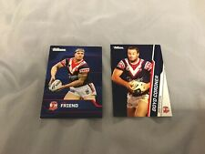 2 x SYDNEY ROOSTERS AUSTRALIAN NRL RUGBY LEAGUE CARDS MIXED BULK COLLECTION EXC