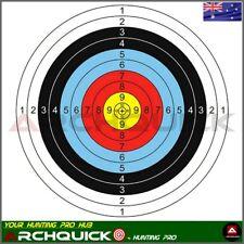 5 x Paper Target Faces 60x60cm for Compound Recurve Bow Archery Target Practice