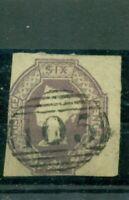 Großbritannien,Königin Victoria Nr 5 c gestempelt viereckig geschnitten