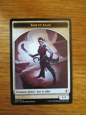 x1 Carte Magic MTG Jeton Kor et Allié VF (Bataille de Zendikar)