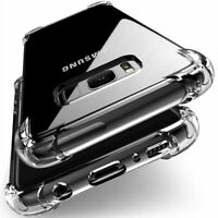 Samsung Galaxy Note 8 Clear Bumper Silicone Case Hybrid Shockproof Hard Cover