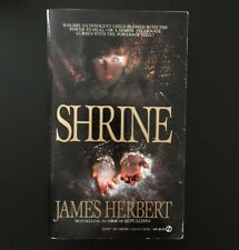 James Herbert - Shrine - Signet - 1984 Vintage Horror Paperbacks