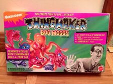 NOS Nickelodeon Thingmaker Bog Woggs Monster Mix & Molds NEW 1994 Mattel GAK ERA