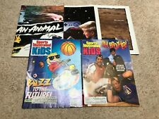 New listing 5 SPORTS ILLUSTRATED FOR KIDS MAGAZINES-- 1989-1992 WITH CARDS