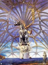 Framed Print - Salvador Dali Santiago El Grande (Painting Picture Poster Art)