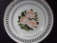 Bing & Grondahl Danbury Mint 1979 The 12 Rose Plates Moss Rose Ltd Ed Plate