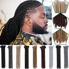 "NEW 12"" Dreadlocks For Hippie Men 100% Natural Handmade Hair Extensions African"