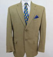 Ralph Lauren Dillards Men's Silk Wool Beige Blazer Jacket Sport Coat 44 R Canada