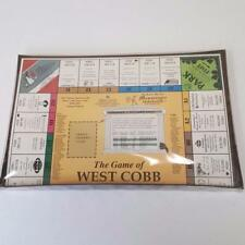 The Game of West Cobb Georgia Monopoly Style Board Game Sealed 96/97 Edition NIB