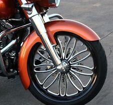 """Harley Davidson Road Glide 21"""" Front Fender Wrapper Style, Fiberglass - FLTR"""