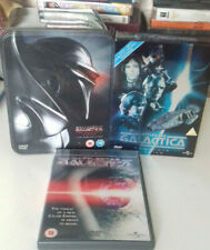 BATTLESTAR GALACTICA THE COMPLETE 1st & 2nd SERIES TIN BOX Ultimate Set & movie