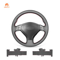 Black Artificial Leather Steering Wheel Cover for Subaru Legacy Forester Outback