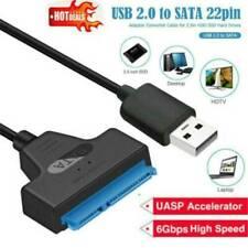 "USB 3.0 to 2.5"" SATA III Hard Drive Adapter Cable UASP SATA to USB3.0 Converter"