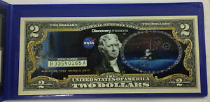 $2 Colorized Commemorative Federal Reserve Note ~ Discovery