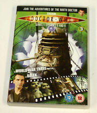 Doctor Who SERIES 1: EPISODES 5 and 6(DVD-2009,1Disc) R2. Christopher Eccleston