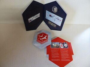 Canadian Forces Snowbirds Stamp and $5 Silver Coin Set 2006 Limited Edition Tin