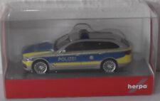 HERPA BMW 5er TOURING G31 AUTOBAHN POLIZEI NORDRHEIN WESTFALEN IN VESBA DESIGN
