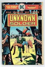 STAR SPANGLED WAR STORIES: THE UNKNOWN SOLDIER #197 (DC Comics) 1976 G+