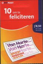 Nederland NVPH 1999-08 Postzegelboekje PB 71 Feliciteren 2001 Postfris