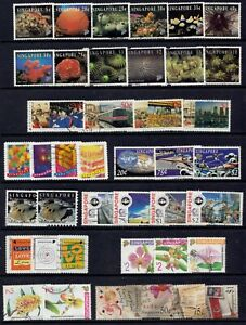Singapore fine used issues from 1994 including Life from the Coral