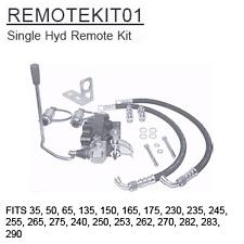 REMOTEKIT01 Massey Ferguson Parts Single Hyd Remote Kit 35, 50, 65, 135, 150, 16