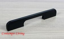 "6"" Solid Kitchen Cabinet Bar Pull Handle With Flat Black Finish"