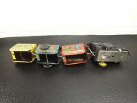 Vintage Windup Tin Toy Zig Zag Classic Circus Train USSR
